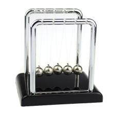Fovibery Physics Science Accessory Desk Toy  Ton&#34s Cradle Steel Balance Ball