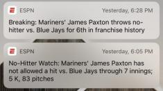 Play by play: How I caught the Mariners no-hitter, and what it says about the new era of sports