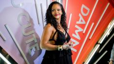 Rihanna toasts new Savage X Fenty lingerie collection during N.Y. party
