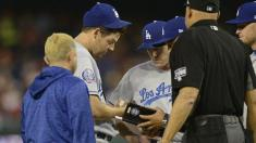 Unable to pitch for Dodgers, Rich Hill searches for blister solutions