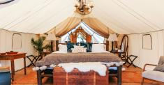 Glamping Slips Into the Mainstream