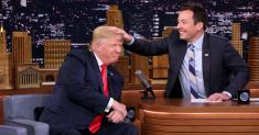 Jimmy Fallon Says He'll Donate to Immigration Group in Trump's Name