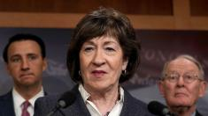 Supreme Court pick who would overturn Roe v. Wade not 'acceptable': Collins