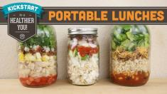 Portable Lunches In A Jar Mind Over Munch Kickstart Series