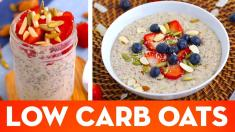 Low Carb Oatmeal! Hot Porridge & Overnight Oats Keto Breakfast Recipes Mind Over Munch