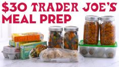 30 Trader Joes Meal Prep Breakfast Lunch and Dinner! Mind Over Munch