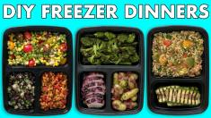 Freezer Meals! Healthy Meal Prep Freezer Dinners! Mind Over Munch