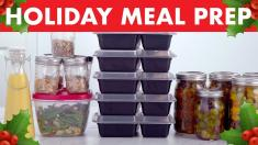 Healthy Meal Prep for the Holidays! Mind Over Munch