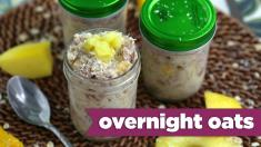 Tropical Overnight Oats! Bonus Episode! Mind Over Munch