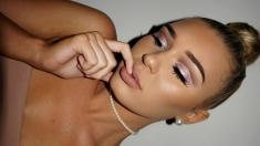 Glitter Cut Crease Full Glam Makeup Tutorial