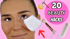 20 LIFE CHANGING Beauty Hacks!! | SHANI GRIMMOND