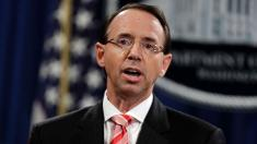 11 House GOP members introduce articles of impeachment against Rod Rosenstein