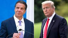 'Great divider in chief': Gov. Cuomo continues war of words with Trump