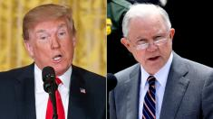 Trump responds to Jeff Sessions push-back: Look at 'corruption on the 'other side''