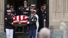 John McCain remembered as father, friend, statesman who 'called on us to be better'