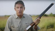 Shotgun-toting senator shoots anti-Obamacare lawsuit in new ad for re-election bid