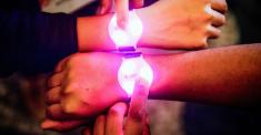 My Wrist Is Glowing: At Business Events, Shorter Lines and Less Privacy