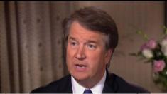 'I'm not going anywhere': Kavanaugh in emotional Fox interview