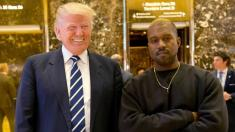 Kanye West meeting Trump at White House