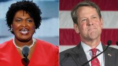 Kemp claims win in governor's race. ABC News has not projected a winner.