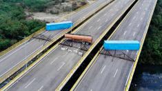 Aid arrives at Venezuela border as US demands Maduro let it in