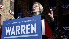 Elizabeth Warren hits New Hampshire with pitch for radical change in Washington