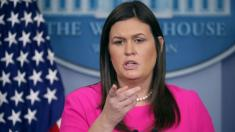 White House press secretary Sarah Sanders says she was interviewed by Mueller team