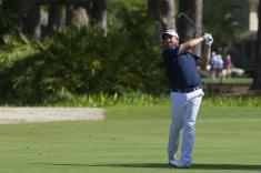 Golf: Lowry leads by one as darkness halts play at RBC Heritage
