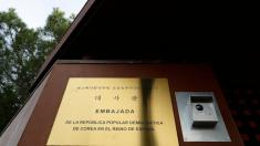 Ex-Marine arrested in North Korea embassy attack in Madrid