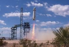 Blue Origin lofts NASA and student experiments in New Shepard tomorrow morning