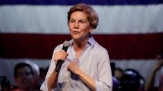 Man arrested at Elizabeth Warren event after clash with Trump supporters