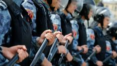 Arrests at unsanctioned Moscow protest up to 600
