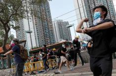 Strike grips Hong Kong as leader warns protests challenge China's sovereignty
