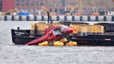 New York City helicopter crash was 'survivable,' secondary harnesses 'unsafe': NTSB