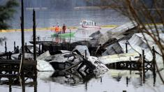 4 children among those killed in massive dock fire