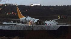 Passenger plane crashes at Istanbul airport, at least 21 injured
