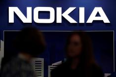 Nokia shares outperform on M&A hopes