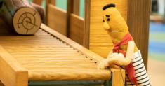 The puppeteers for Jim Carrey's fictional Mister Rogers aren't 'Kidding' around