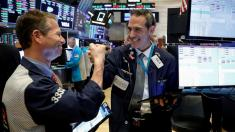 After a week of bloodletting, US stock markets rebound sharply