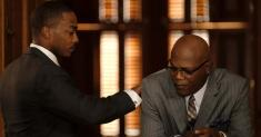 Review: 'The Banker,' starring Anthony Mackie and Samuel L. Jackson, eventually earns its keep
