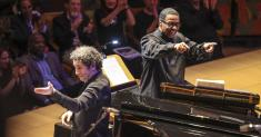 Review: L.A. Phil and Herbie Hancock open the risk-taking Power to the People! festival