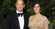 Tom Hanks says he and Rita Wilson 'feel better.' Meanwhile, she's rapping