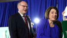 Klobuchar shares update on husband, after he was hospitalized for coronavirus