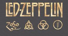 Can you provide the title of each Led Zeppelin song when the letters have been scrambled?