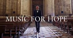 Andrea Bocelli livestreams coronavirus message of 'Hope' from Italy for Easter