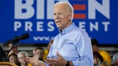At women's event, Biden navigates around lingering sexual assault allegation