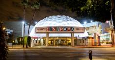 All lighted up with no movies to play: Hollywood theaters in limbo