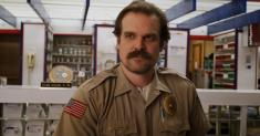 David Harbour is using quarantine to plan the future of 'Stranger Things'