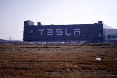Tesla starts building Long Range Model 3 cars at China plant