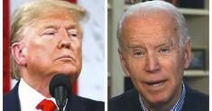 Commentary: A nation rages over the death of George Floyd. As Trump tweets, Biden leads